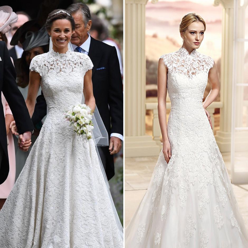 This Wedding Dress Is The Double Of Pippa Middleton S