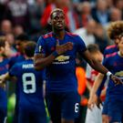 Manchester United's Paul Pogba celebrates