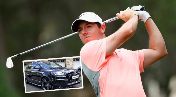 Rory McIlroy's old car is up for sale