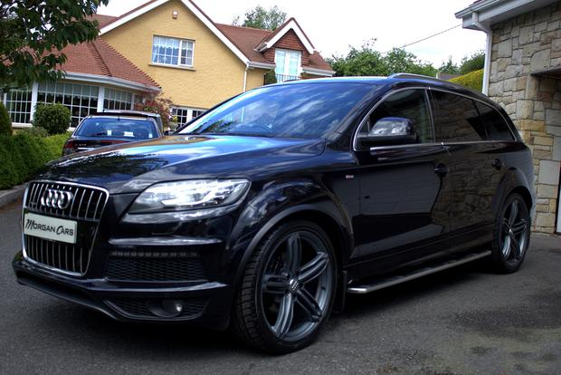SL NEWS - Audi Q7 which once belonged to Rory McIlroy which is being sold by Warrenpoint dealership Morgan Cars Image supplied by F Mogran of Morgan Cars to C Woodhouse 20 May 2017