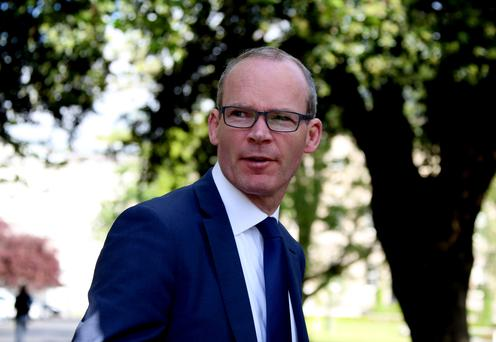 Simon Coveney Picture: Tom Burke