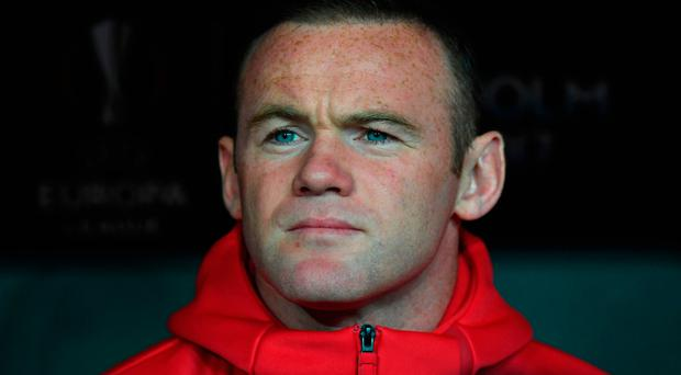 Rooney has been a peripheral figure for United for most of this season. Photo: AFP/Getty Images