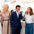 Elle Fanning, Nicole Kidman, Colin Farrell, Sofia Coppola and Kirsten Dunst at the screening of 'The Beguiled' in Cannes. Image: AP Photo/Thibault Camus