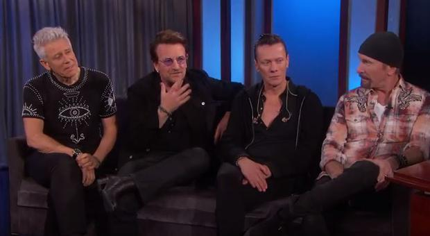 U2 on Jimmy Kimmel