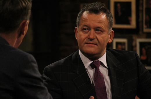 Paul Burrell on the Late Late show tonight