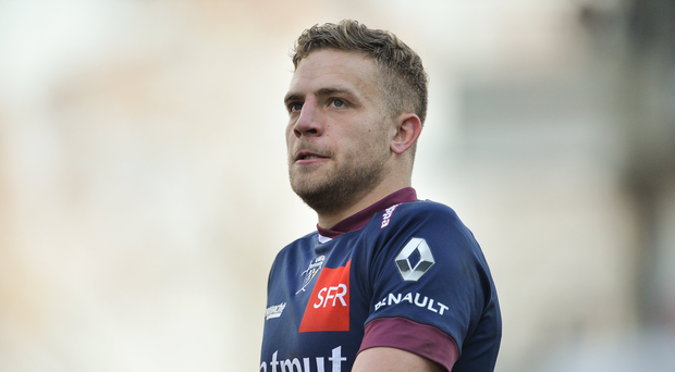 21 January 2017; Ian Madigan of Bordeaux-Begles during the European Rugby Champions Cup Pool 5 Round 6 match between Ulster and Bordeaux-Begles at Kingspan Stadium in Belfast. Photo by Oliver McVeigh/Sportsfile