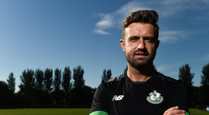29 August 2016; Stephen McPhail of Shamrock Rovers at a media event in the AUL Complex, Clonshaugh, Co. Dublin. Photo by David Maher/Sportsfile