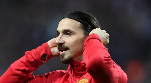 Zlatan Ibrahimovic's future at United remains unclear Getty.
