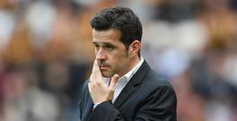 HULL, ENGLAND - MAY 21: Marco Silva, Manager of Hull City reacts during the Premier League match between Hull City and Tottenham Hotspur at the KC Stadium on May 21, 2017 in Hull, England. (Photo by Laurence Griffiths/Getty Images)