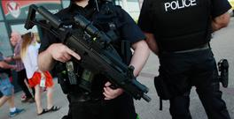 Armed Police officer Photo: Reuters / Jason Cairnduff Livepic