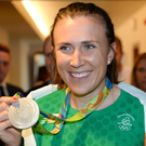 2016 Rio Summer Olympic Games silver medal winner Annalise Murphy. Photo: Sportsfile