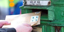 An Post has been considering the closure of as many as 400 post offices around the country as well as shutting two temporary sorting centres in Dublin. Stock image