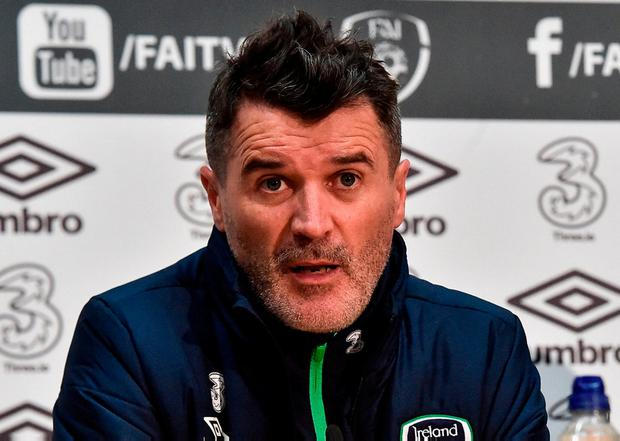 Republic of Ireland assistant manager Roy Keane. Photo: David Maher/Sportsfile