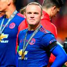Manchester United's Wayne Rooney has indicated an exit from Old Trafford. Photo: Jonathan Nackstrand/AFP/Getty Images