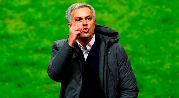 Manchester United manager Jose Mourinho. Photo: Getty Images