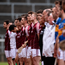 23 April 2017; Galway and Tipperary players line up before the Allianz Hurling League Division 1 Final match between Galway and Tipperary at the Gaelic Grounds in Limerick. Photo by Diarmuid Greene/Sportsfile