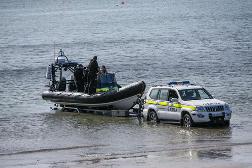 Search For Missing Crew As Trawler Sinks off Skerries, North Dublin