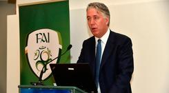 FAI Chief Executive John Delaney. Photo: David Maher/Sportsfile