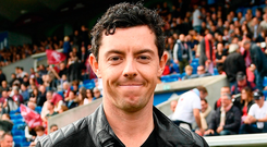 Rory McIlroy is running out of time to be fit for the US Open. Photo: Sportsfile