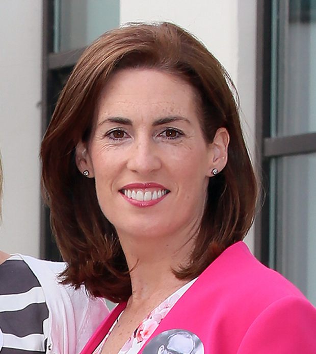 Senator Hildegarde Naughton was at the Carlow hustings. Picture: Frank McGrath