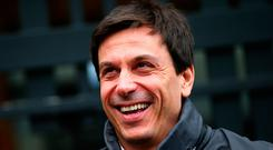 "Toto Wolff: ""After five years, this relationship has become so strong in a way that it wasn't last season."" Photo: Getty"