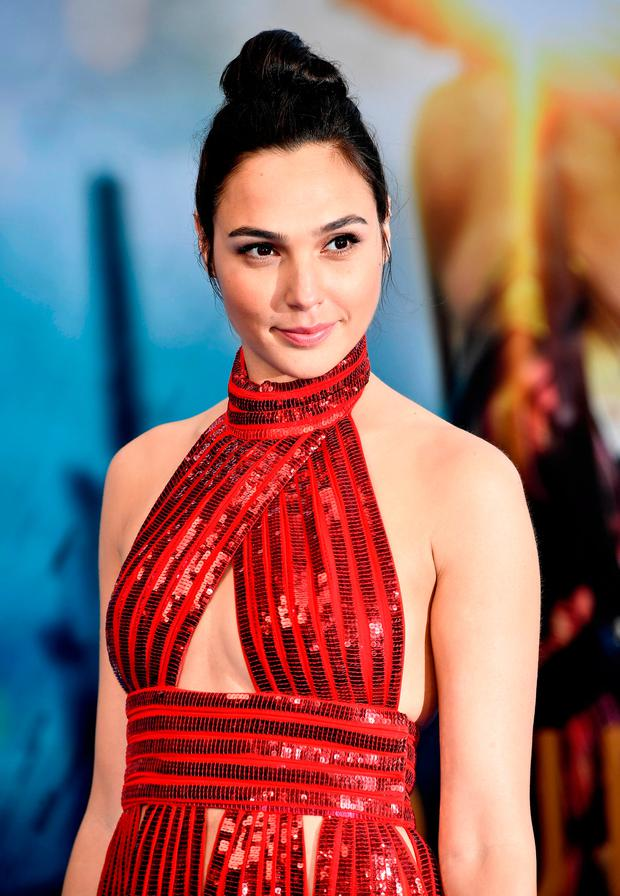 Actress Gal Gadot arrives at the Premiere Of Warner Bros. Pictures'