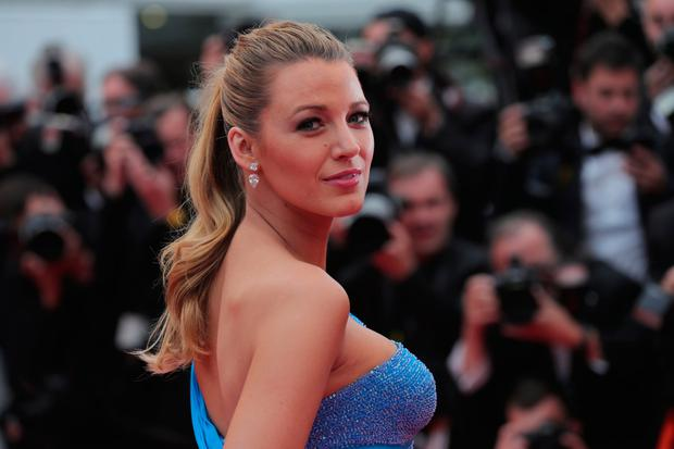 Blake Lively attends 'The BFG (Le Bon Gros Geant - Le BGG)' premiere during the 69th annual Cannes Film Festival at the Palais des Festivals on May 14, 2016 in Cannes, France. (Photo by Neilson Barnard/Getty Images)