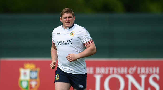 22 May 2017; Tadhg Furlong of British and Irish Lions during squad training at Carton House in Maynooth, Co Kildare. Photo by Sam Barnes/Sportsfile