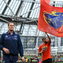 27 May 2017; Munster director of rugby Rassie Erasmus ahead of the Guinness PRO12 Final between Munster and Scarlets at the Aviva Stadium in Dublin. Photo by Ramsey Cardy/Sportsfile