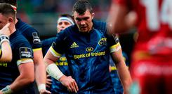 Munsters' Peter O'Mahony during the Guinness Pro12 final at the Aviva Stadium