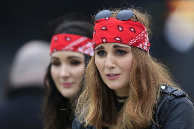 Guns N' Roses fans at Slane Castle, Slane, Co Meath. Picture Newsfile | Fran Caffrey