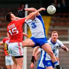 Paul Kerrigan of Cork scores a goal past Brian Looby of Waterford during the Munster GAA Football Senior Championship Quarter-Final match between Waterford and Cork at Fraher Field in Dungarvan, Co Waterford. Photo by Matt Browne/Sportsfile