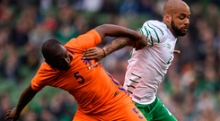 'I have said for a long time that David McGoldrick will have a big part to play in this World Cup campaign'. Photo: Sportsfile