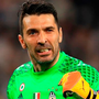 Gianluigi Buffon celebrates after his side score their first goal during the UEFA Champions League Semi Final second leg match between Juventus and AS Monaco. Photo: Getty Images