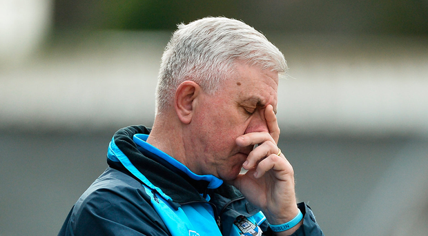 'After his first season in 2015, Cunningham lost Shay Boland, Gearoid Ó Riain and Ed Coughlan from his backroom team. There are no indications that this was the manager's choice.' Photo: Diarmuid Greene/Sportsfile