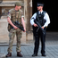 The army has joined police on the streets across Britain. Picture: PA