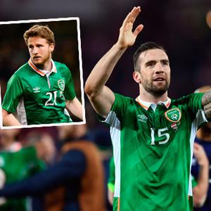 Shane Duffy and Eunan O'Kane were involved in a car crash on the way to Dublin to join Ireland squad