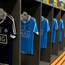 A general view of Conor Dooley of Dublin's jersey in the dressing room before the Leinster GAA Hurling Senior Championship