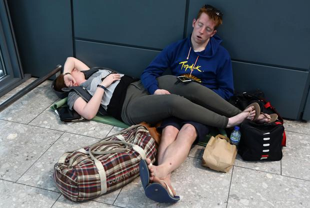 British Airways disruption continues for third day