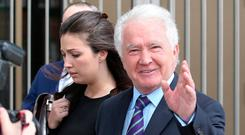 Former Anglo Bank chairman Sean Fitzpatrick was aquitted of all charges last week. Photo: Damien Eagers
