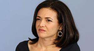 Facebook COO Sheryl Sandberg. Photo: GETTY