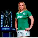 Ireland captain Niamh Briggs in attendance at the RBS Six Nations launch