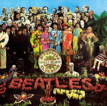 'Sgt Pepper's Lonely Hearts Club Band' by the Beatles. Photo: PA