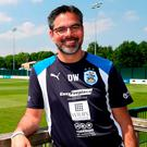 Huddersfield Town manager David Wagner is aiming for promotion glory today. Photo: Simon Cooper/PA Wire