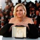 Diane Kruger poses with her Best Actress award for her role in the film 'Aus dem Nichts' (In the Fade). Photo: Reuters
