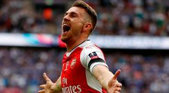 Ramsey: Match-winner. Photo: John Sibley/Action Images via Reuters