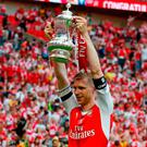 Arsenal's German defender Per Mertesacker. Photo: Ian Kington/AFP/Getty Images
