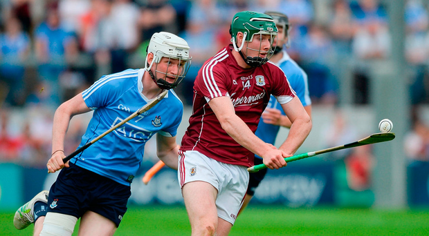 'Guys like Cathal Mannion (pictured, right) and Conor Cooney are working much harder without the ball to everyone else's benefit'. Photo: Daire Brennan/Sportsfile