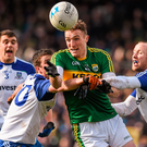 Kerry's Brendan O'Sullivan in action against Monaghan during last year's league. Photo: Philip Fitzpatrick/Sportsfile