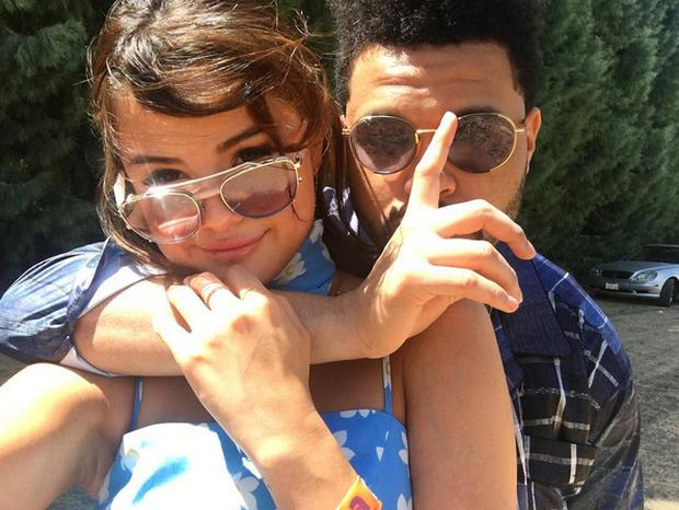Selena Gomez and The Weeknd. Picture: Instagram